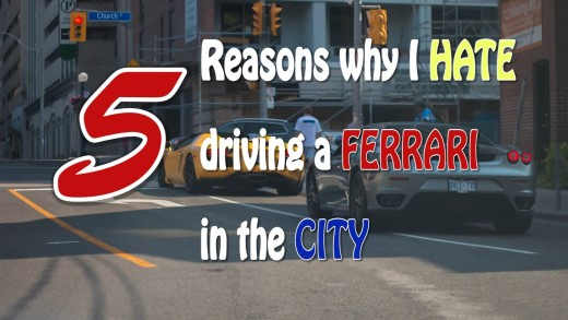 5 Reasons Why I Hate Driving My Ferrari in the City
