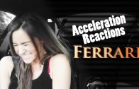 Ferrari Acceleration Reaction