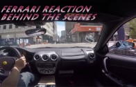 Ferrari Reaction:  Behind the Scenes in the Epic Lamborghini Mustang
