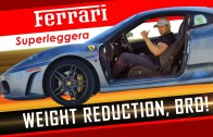Ferrari Superleggera – Weight Reduction, Bro