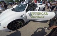 Supercar Sunday – 918, Aventador, SLR and Lamborghini Mustang