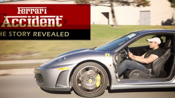 Ferrari Accident – A $40,000 Repair!