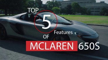 5 Insane Driving Features – McLaren 650s