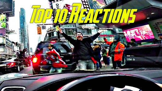Supercar Reactions – Top 10 from 2016