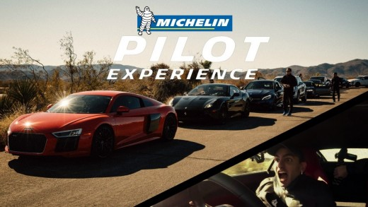 Michelin Cruise at Joshua Tree National Park – R8 @138 MPH!