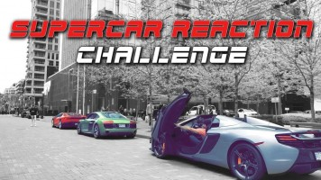 Supercar City Reaction Challenge – INSANE!!!
