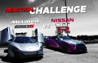 Reaction Challenge: McLaren vs. GTR