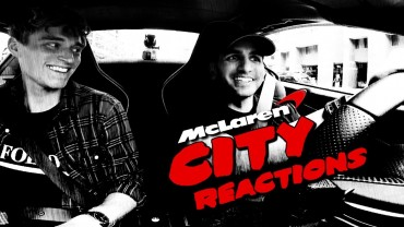 REACTIONS: McLaren City Driving – RENTAL!!!