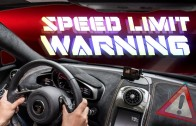 Weirdest Supercar Feature – McLaren Speed Limit Warning