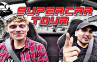 EPIC Supercar City Reaction Drive! Lambo Murci and McLaren BATTLE
