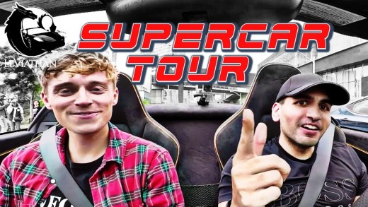McLaren SUPERCAR REACTION Ridealong and City Tour!