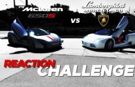 REACTION CHALLENGE! McLaren  vs. Loudest Lamborghini Murciélago