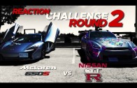ROUND 2 – Mclaren  650s vs Nissan GTR Reaction Challenge
