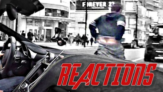 DRIVING A SUPERCAR: CITY REACTIONS! – KEEP THE NOISE DOWN!!!!