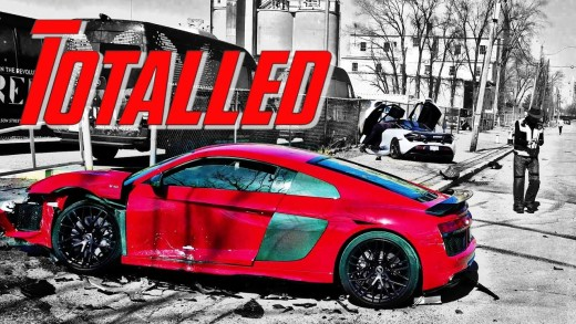 WRECKED Totalled McLaren and Audi! IMPACT! FULL STORY