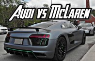 Driving EXOTIC SUPERCARS IN THE CITY! MCLAREN VS FERRARI