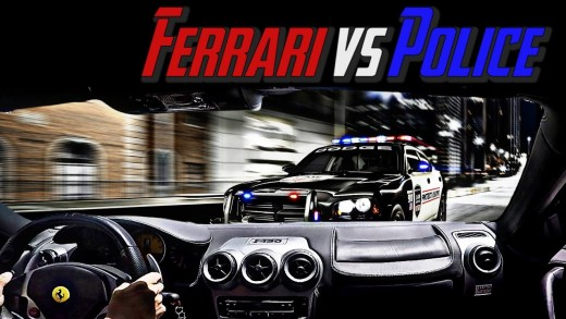 Ferrari Vs Police – ALMOST IMPOUNDED MY F430!