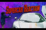 REACTIONS Driving a RENTED Supercar!