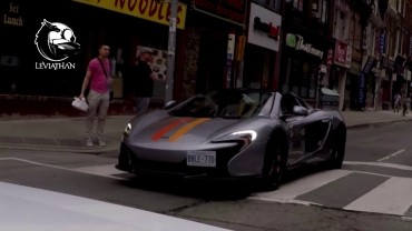 TOP MCLAREN Supercar CITY Reactions