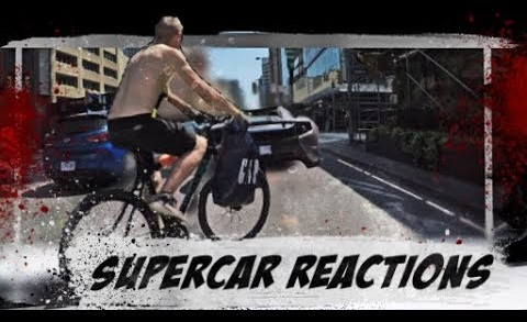 Driving a SUPERCAR in the CITY! AMAZING REACTIONS!