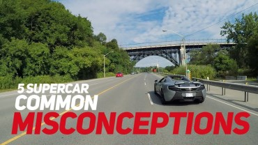 5 MOST COMMON Supercar MISCONCEPTIONS