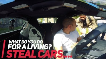"Mclaren EPIC Supercar Reactions – ""I STEAL CARS!"""