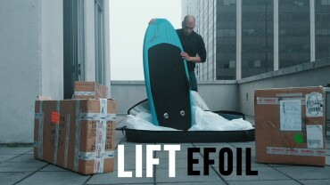 Unboxing the Lift Efoil 2 (Banned in Canada)